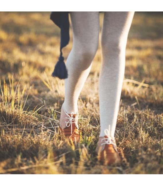 Botas de Piel Vegana Para Mujer Horus Espiga Marrón Claro