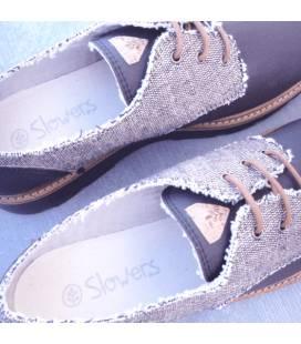 Zapatos de algodón orgánico Gea Marrón