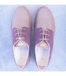 Zapatos de algodón orgánico Gea Taupe