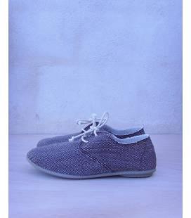 Zapatos con cordones Blucher Pixie Espiga Marrón Oscuro