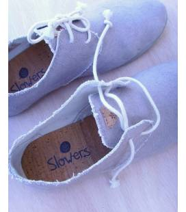 Zapatos con cordones Blucher Pixie Piedra