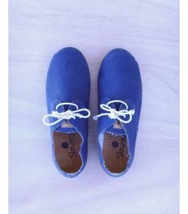 Zapatos con cordones Blucher Pixie Azul