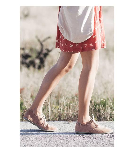 Zapatos con cordones Blucher Pixie Espiga Marrón Claro