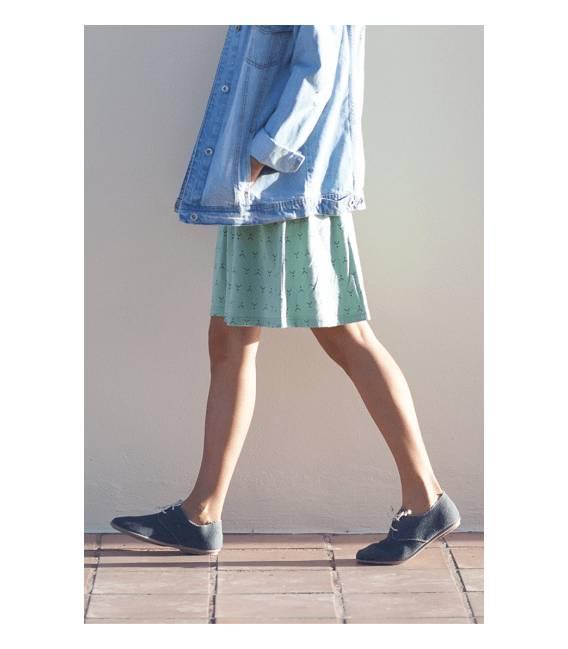 Zapatos con cordones Blucher Pixie Gris
