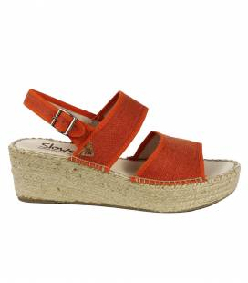 Espadrille Wedges Mar Terracota