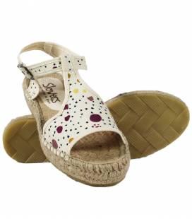 Espadrille Platform Sandals Luna Cosmos