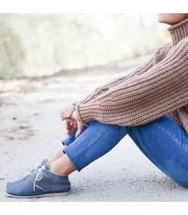 Vegan Leather Boots For Women Horus Dark Grey