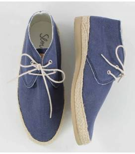 Women Lace-up Shoes Circe Blue