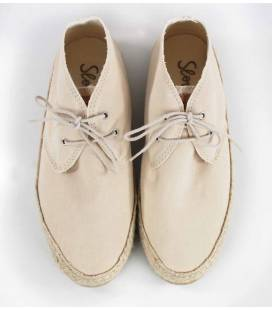 Women Lace-up Shoes Circe Nude