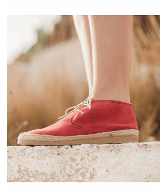 Zapatillas de Primavera Circe Rojo