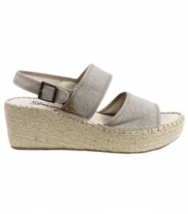 Espadrille Wedges Mar Aluminum
