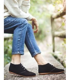 AINE Vegan ankle boots Black
