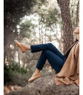 Botas de piel vegana para Mujer Horus Cuero