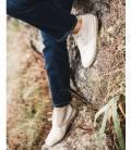 Botas de piel vegana para Mujer Horus Piedra