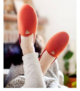 Vesta women's slippers orange