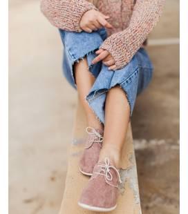 Zapatos con cordones Blucher Pixie Rosa