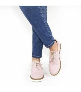 Zapatos de algodón orgánico Gea Rosa Claro