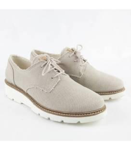 Zapatos de algodón orgánico Gea Verde Claro