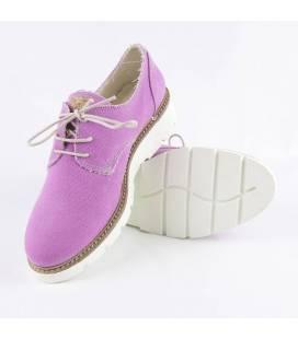 Zapatos de algodón orgánico Gea Fucsia