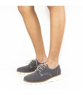 Zapatos de algodón orgánico Gea Gris
