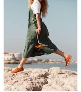 Zapatos con cordones Blucher Pixie Calabaza