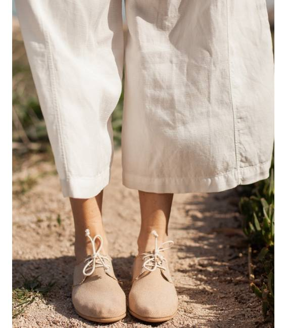 PRE SALE Women Lace-up Shoes Pixie Camel