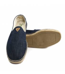 Flat Espadrilles Apolo Dark Denim