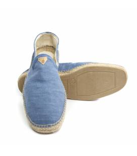 Flat Espadrilles Apolo Light Denim