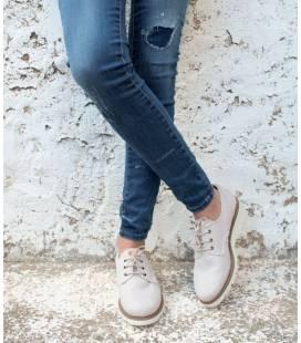 Zapatos de algodón orgánico Gea Piedra