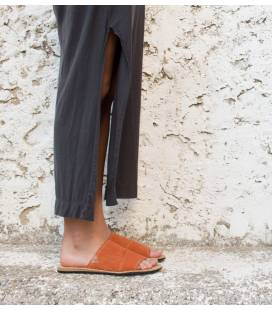 Slip on Sandals Bemba Tangerine