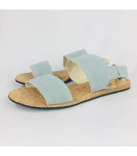 Flat Sandals Makena Grey for Man