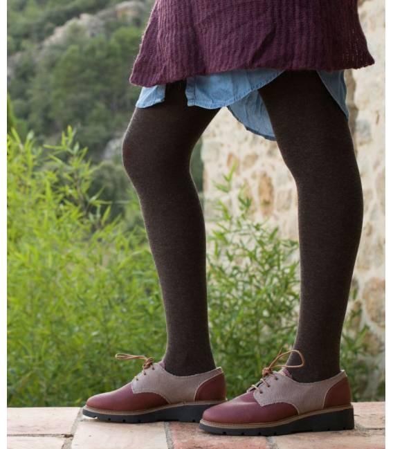 Zapatos de algodón orgánico Gea Ruggine