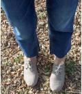 Zapatos con cordones Blucher Pixie Negro