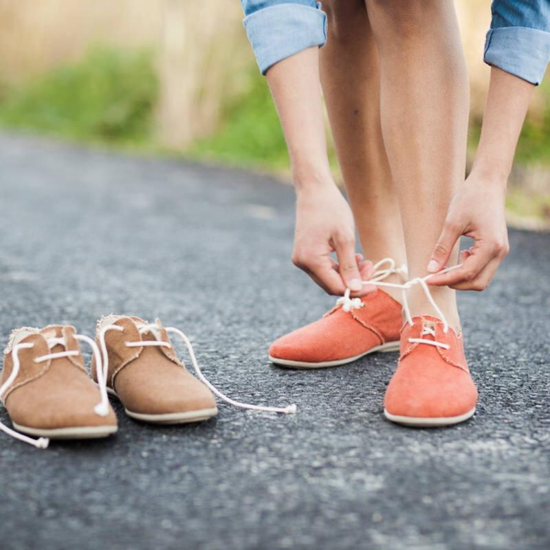 Zapatos Slowers hechos con algodón orgánico y caucho natural