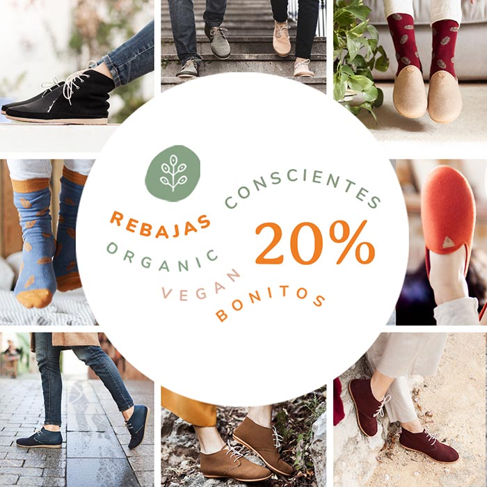 Rebajas conscientes zapatos sostenibles Slowers