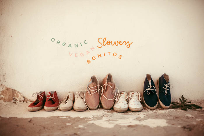 Zapatillas para mujer de algodón orgánico, hechas en España y ecológicas.