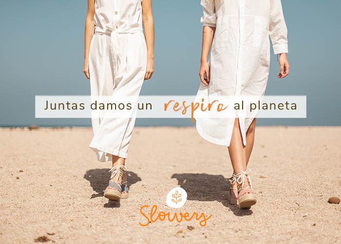 Zapatos sostenibles con baja huella de carbono.