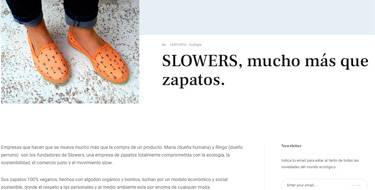 Slowers, mucho más que zapatos