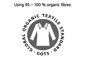 Certification GLOBAL ORGANIC TEXTILE STANDARD