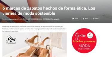 Slowers, zapatos hechos de forma ética y sostenibles